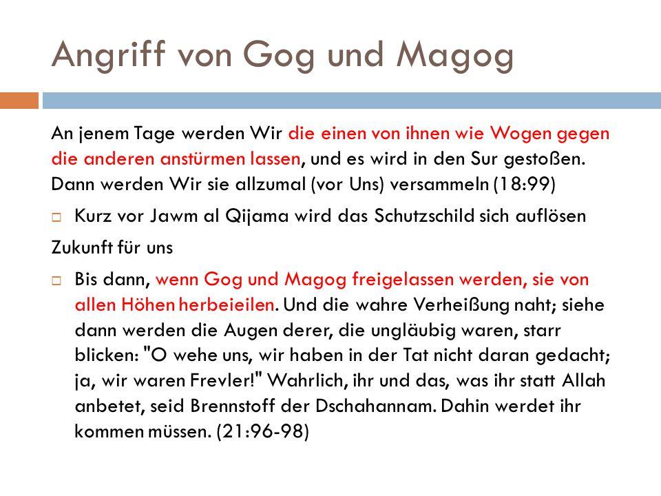 Angriff von Gog und Magog