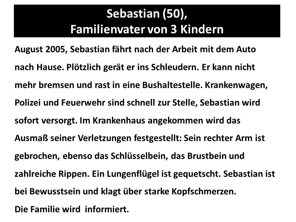 Sebastian (50), Familienvater von 3 Kindern