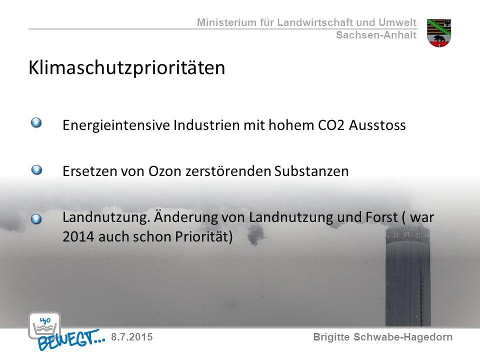 Klimaschutzprioritäten