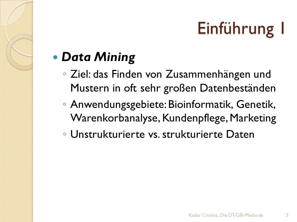 Einführung 1 Data Mining