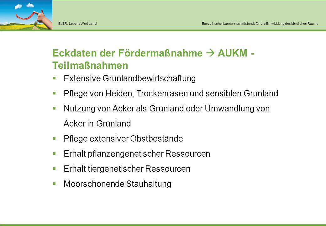 AUKM – allgemeine Regelungen