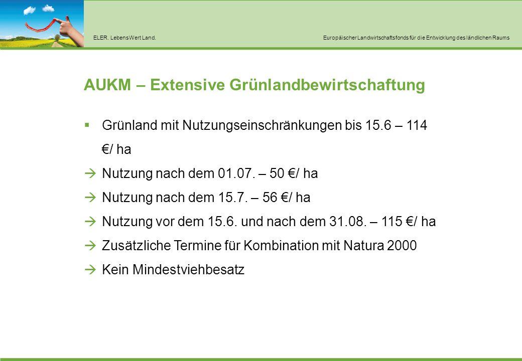 AUKM – Pflege von Heiden, Trockenrasen und sensiblen Grünland
