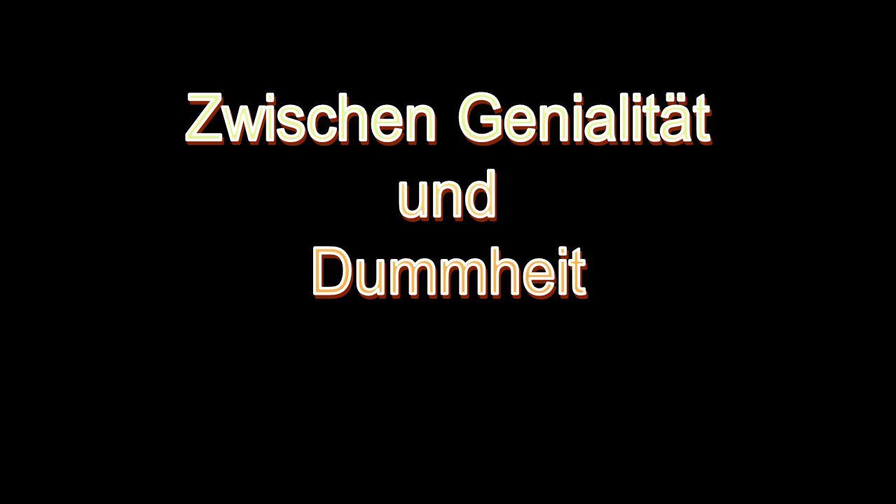 Zwischen Genialität und Dummheit Das Recht auf Faulheit