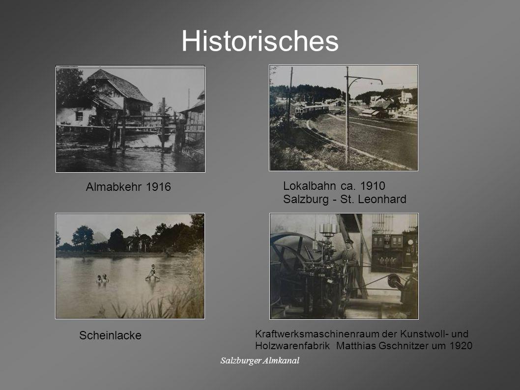 Historisches Almabkehr 1916 Lokalbahn ca. 1910 Salzburg - St. Leonhard