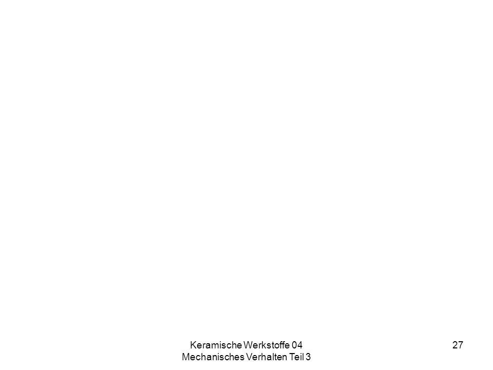 Keramische Werkstoffe 04 Mechanisches Verhalten Teil 3