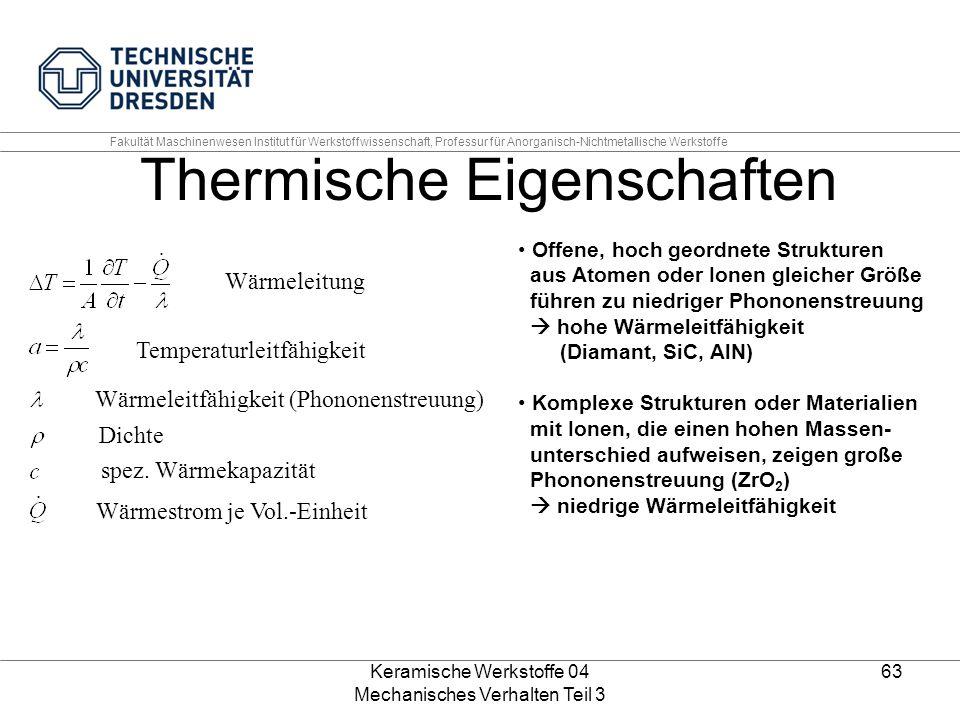 Thermische Eigenschaften