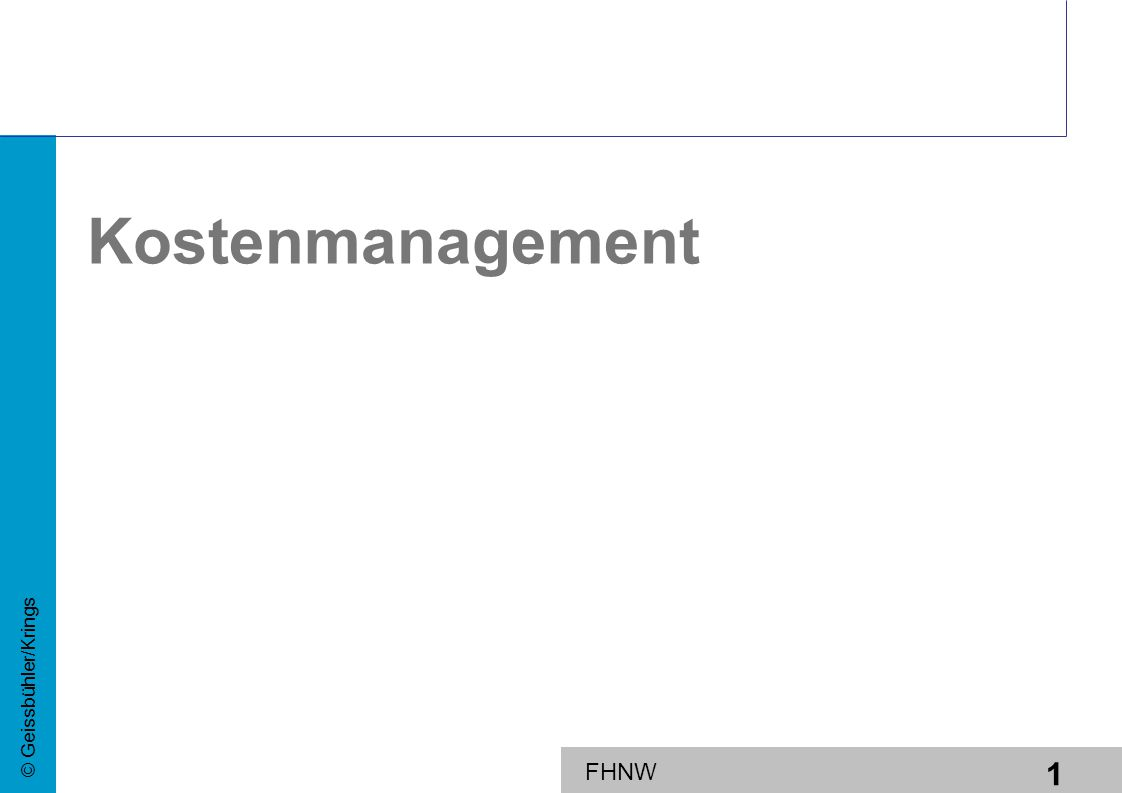 Kostenmanagement Controlling I Übersichten und Text zu Dellmann