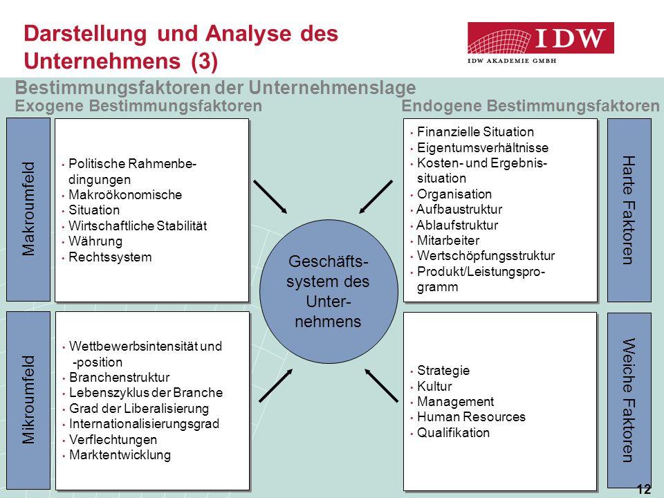 Darstellung und Analyse des Unternehmens (3)