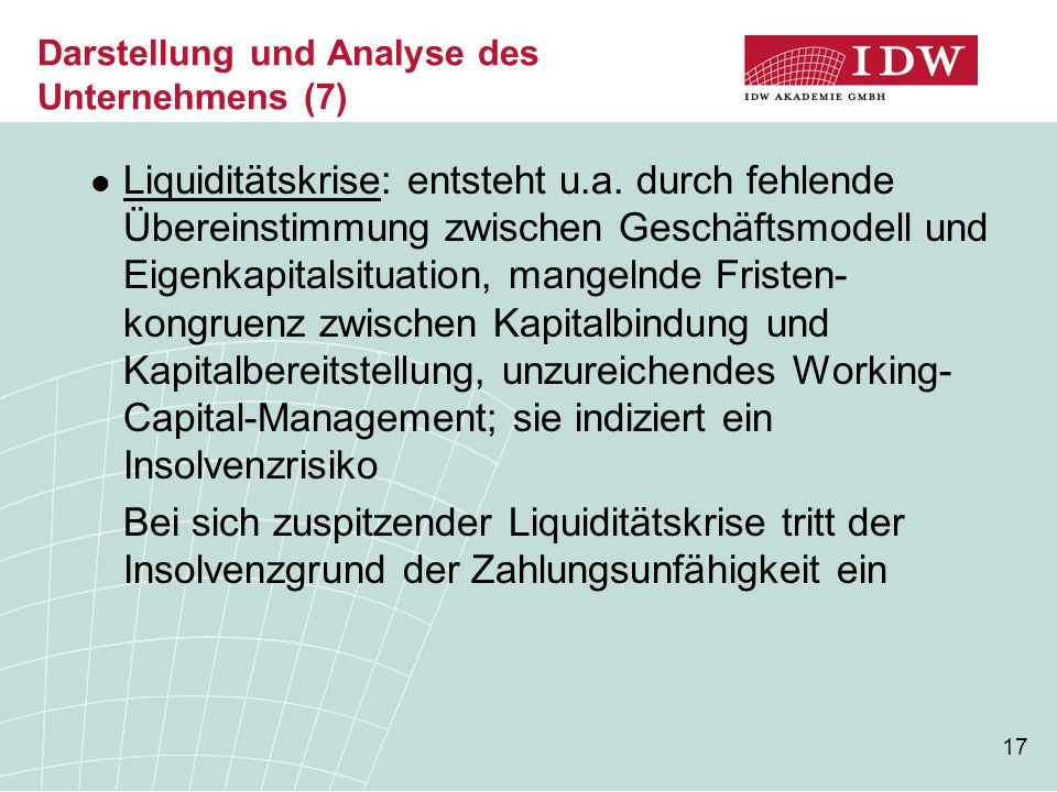 Darstellung und Analyse des Unternehmens (7)