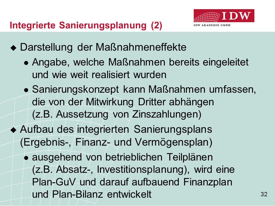 Integrierte Sanierungsplanung (2)
