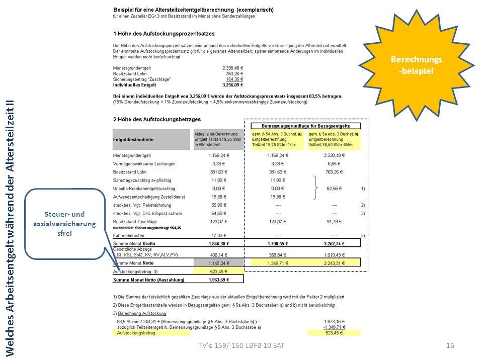 Berechnungs-beispiel Steuer- und sozialversicherungsfrei