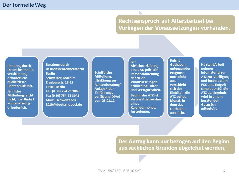 Der formelle Weg Beratung durch Deutsche Renten-versicherung erforderlich: qualifizierte Rentenauskunft.