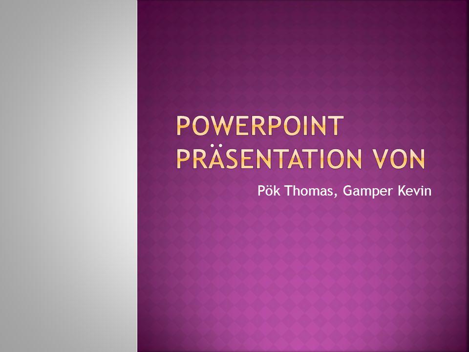 Powerpoint Präsentation von