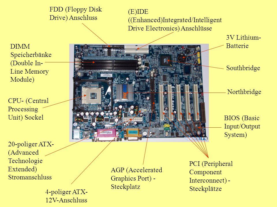 FDD (Floppy Disk Drive) Anschluss
