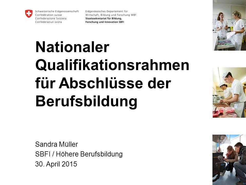 Nationaler Qualifikationsrahmen für Abschlüsse der Berufsbildung