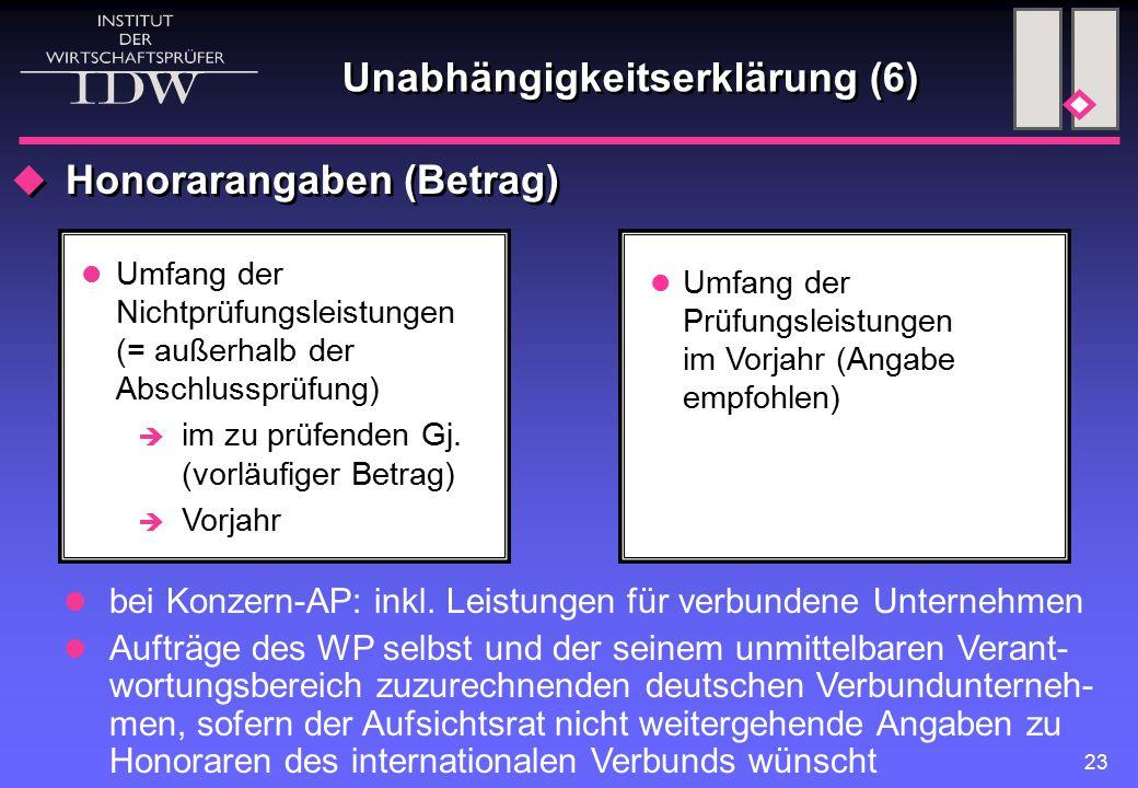 Unabhängigkeitserklärung (6)