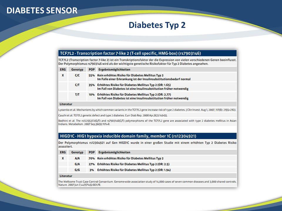 DIABETES SENSOR Diabetes Typ 2