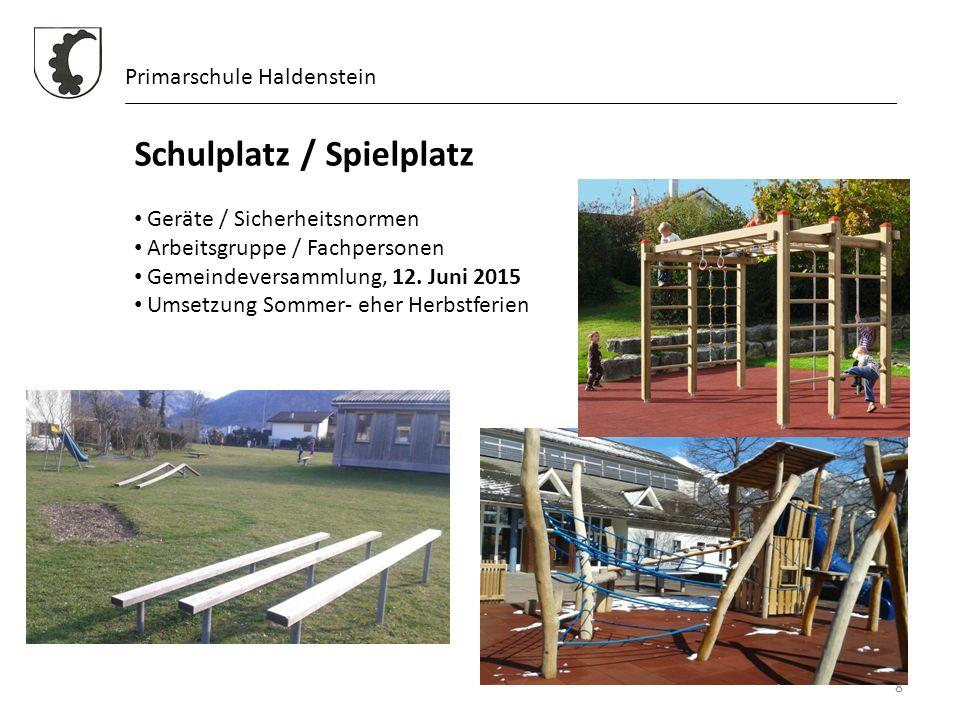 Schulplatz / Spielplatz