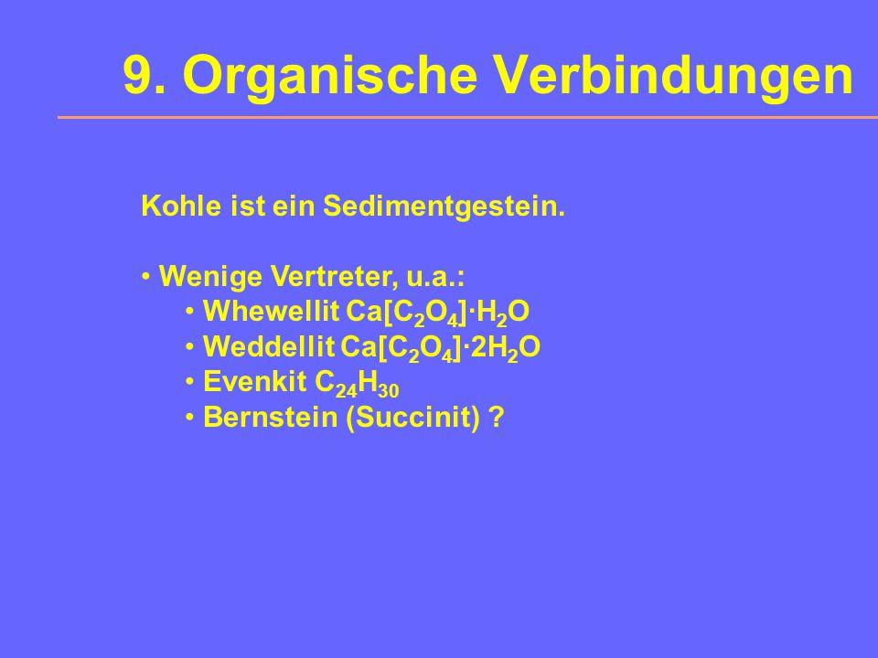 9. Organische Verbindungen