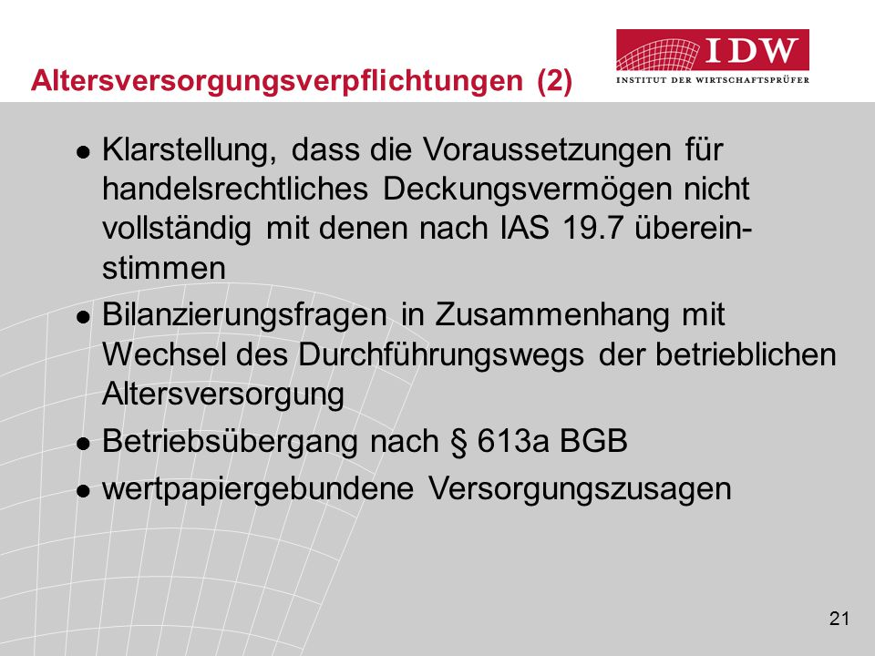 Betriebsübergang nach § 613a BGB
