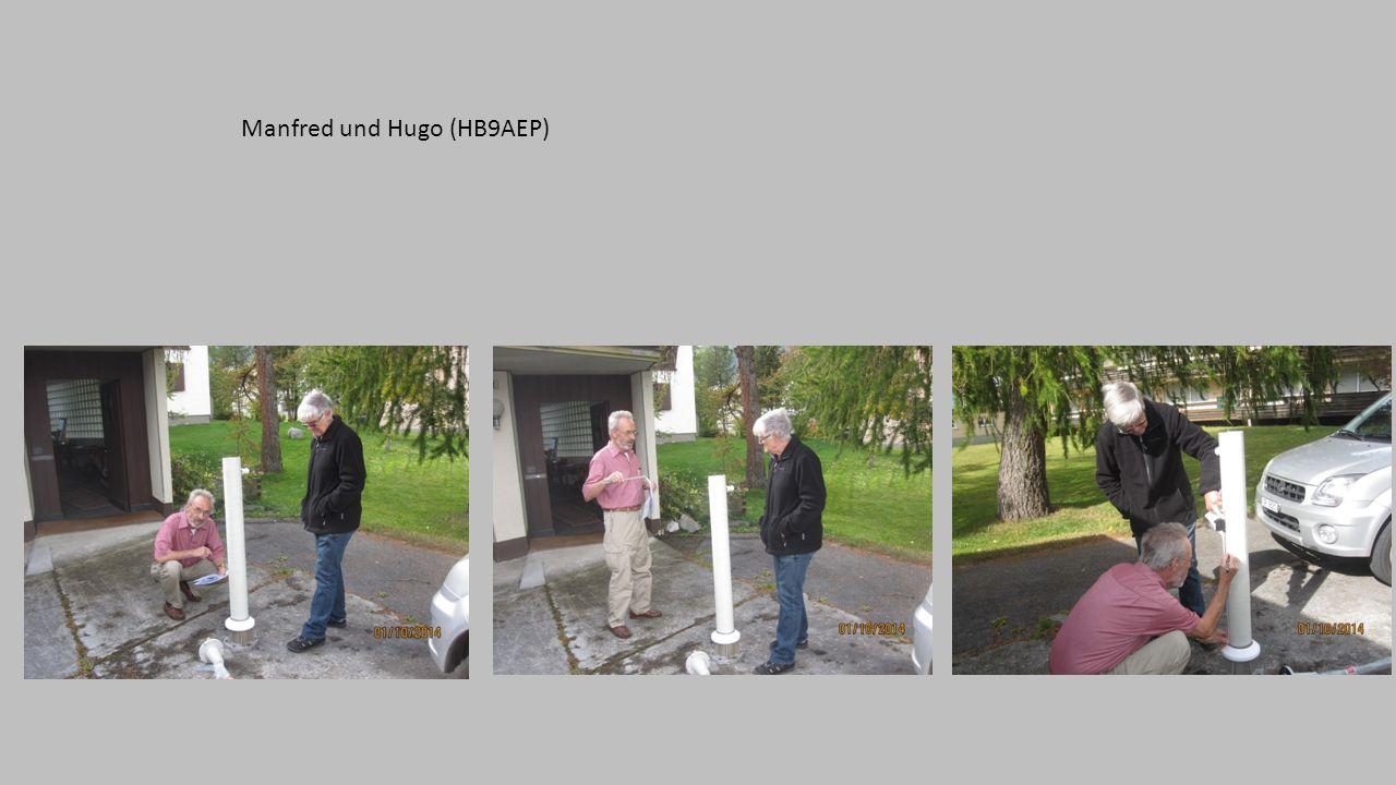 Manfred und Hugo (HB9AEP)
