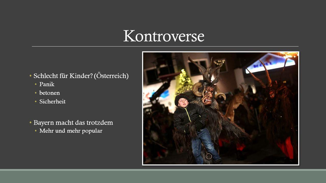 Kontroverse Schlecht für Kinder (Österreich)