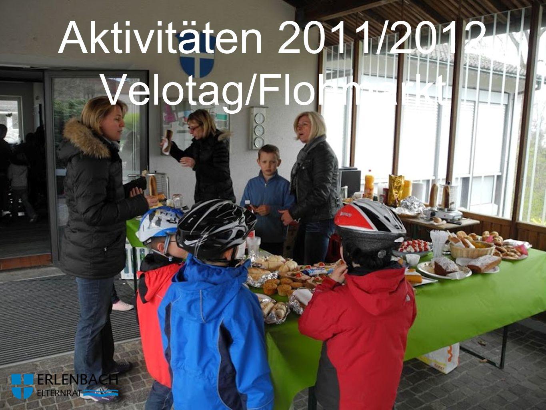 Aktivitäten 2011/2012 Velotag/Flohmarkt