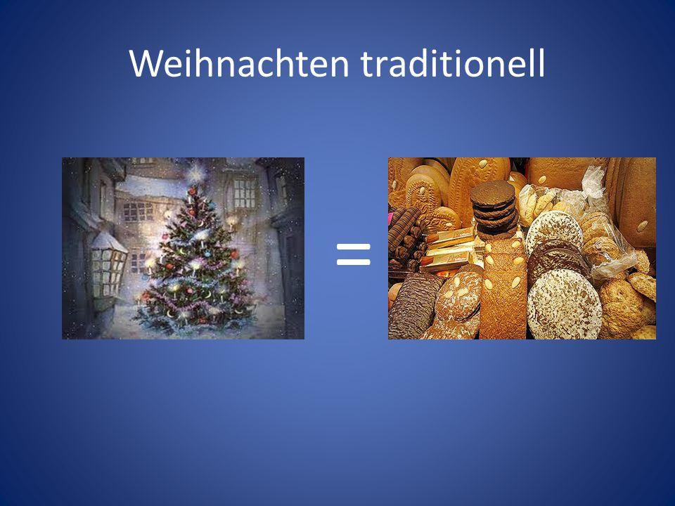 Weihnachten traditionell