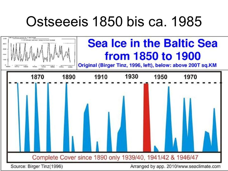 Ostseeeis 1850 bis ca. 1985