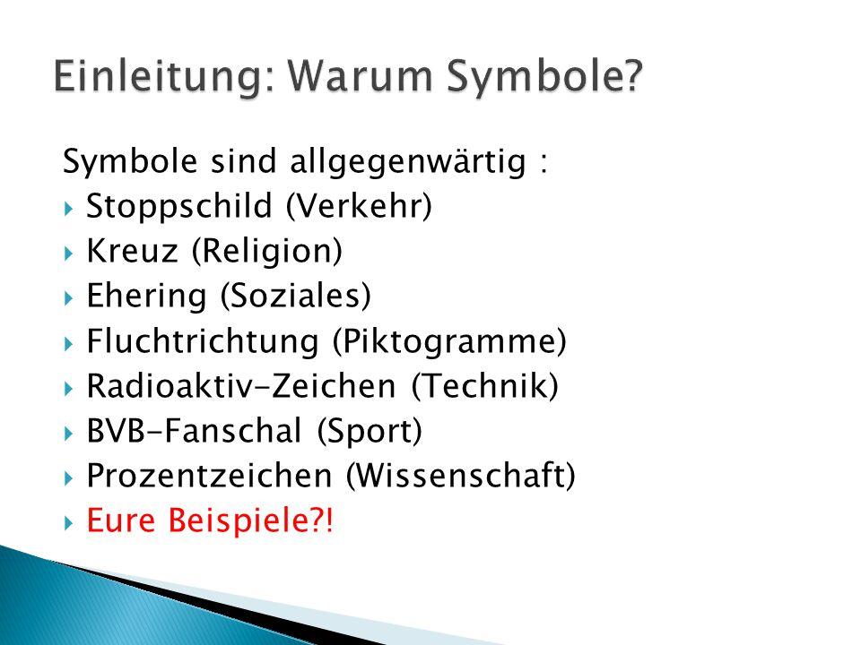 Einleitung: Warum Symbole