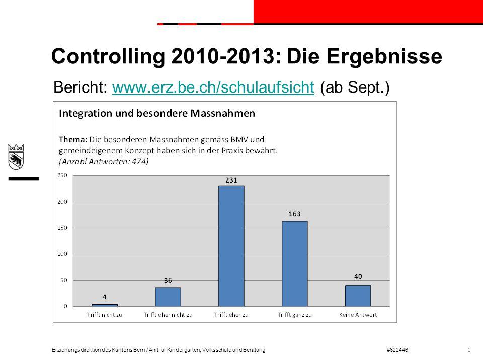 Controlling 2010-2013: Die Ergebnisse