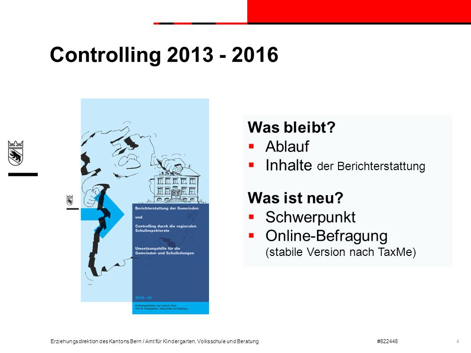 Controlling 2013 - 2016 Was bleibt Ablauf