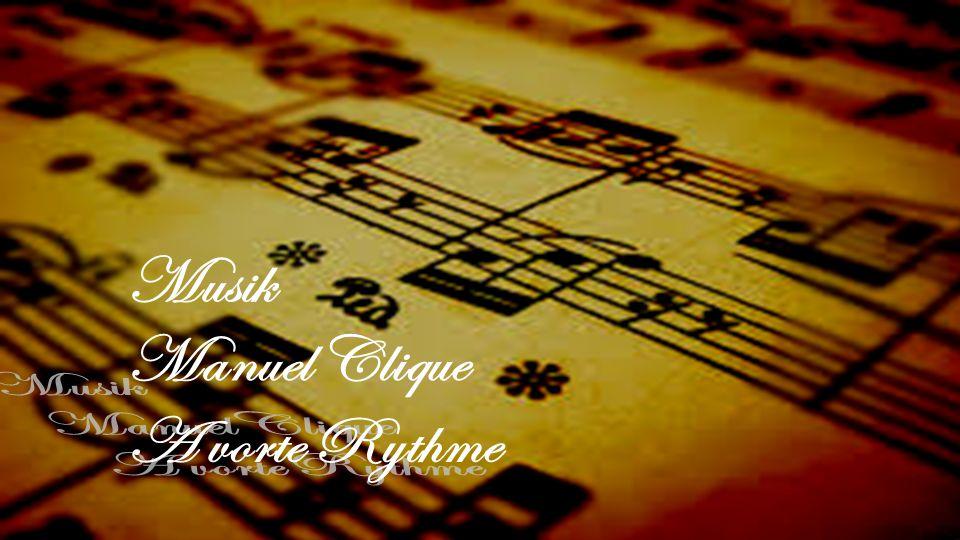 Musik Manuel Clique A vorte Rythme