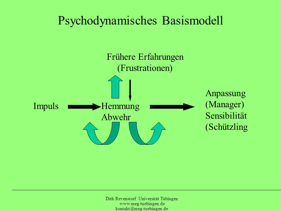 Psychodynamisches Basismodell
