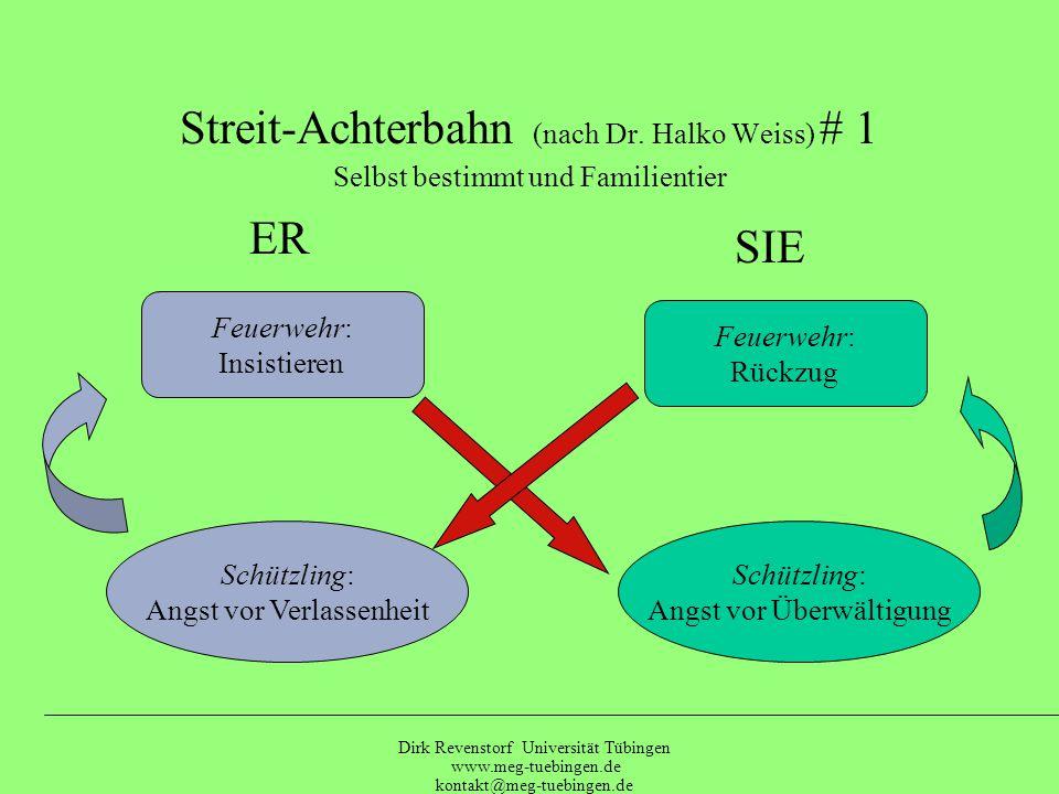 Streit-Achterbahn (nach Dr