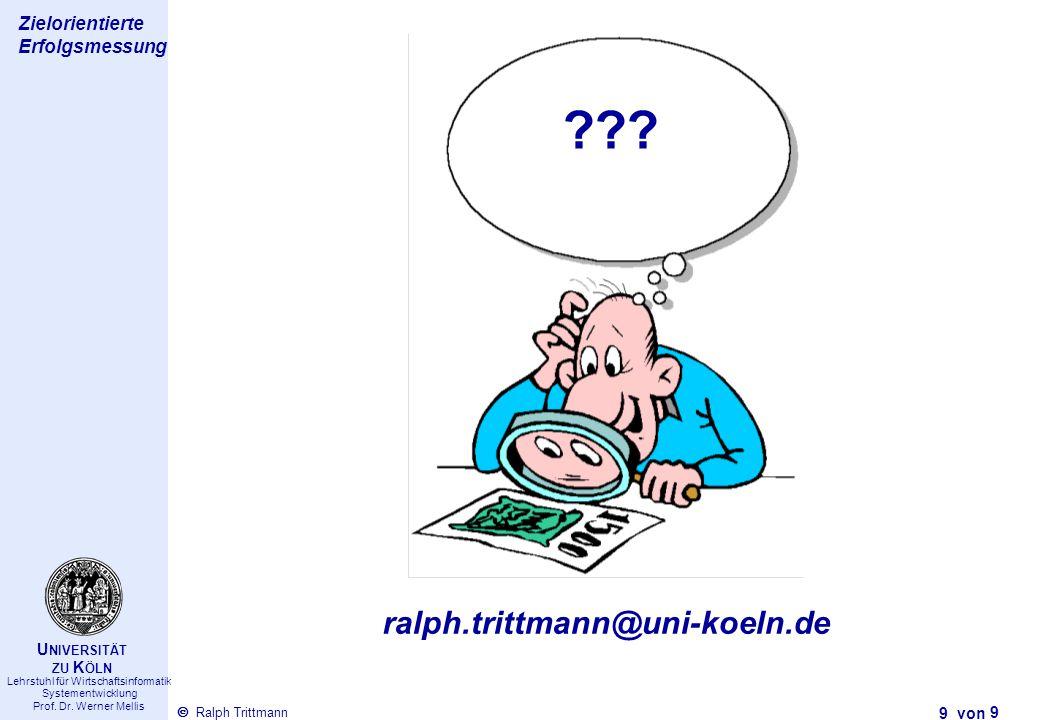 ralph.trittmann@uni-koeln.de 9