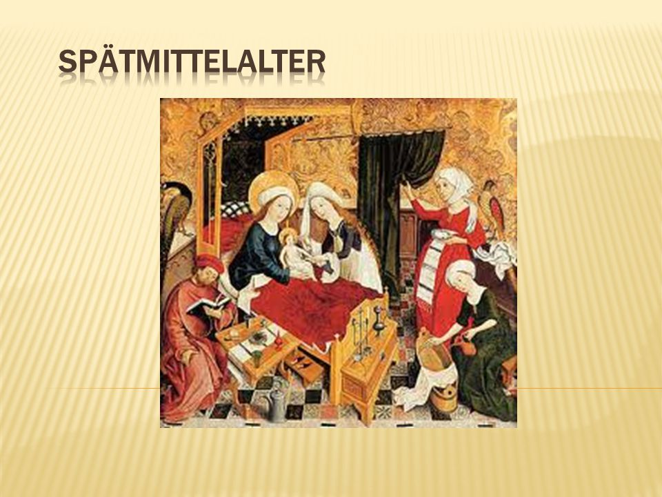 Spätmittelalter