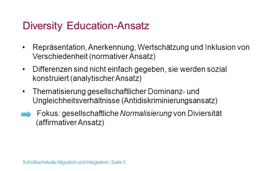 Diversity Education-Ansatz