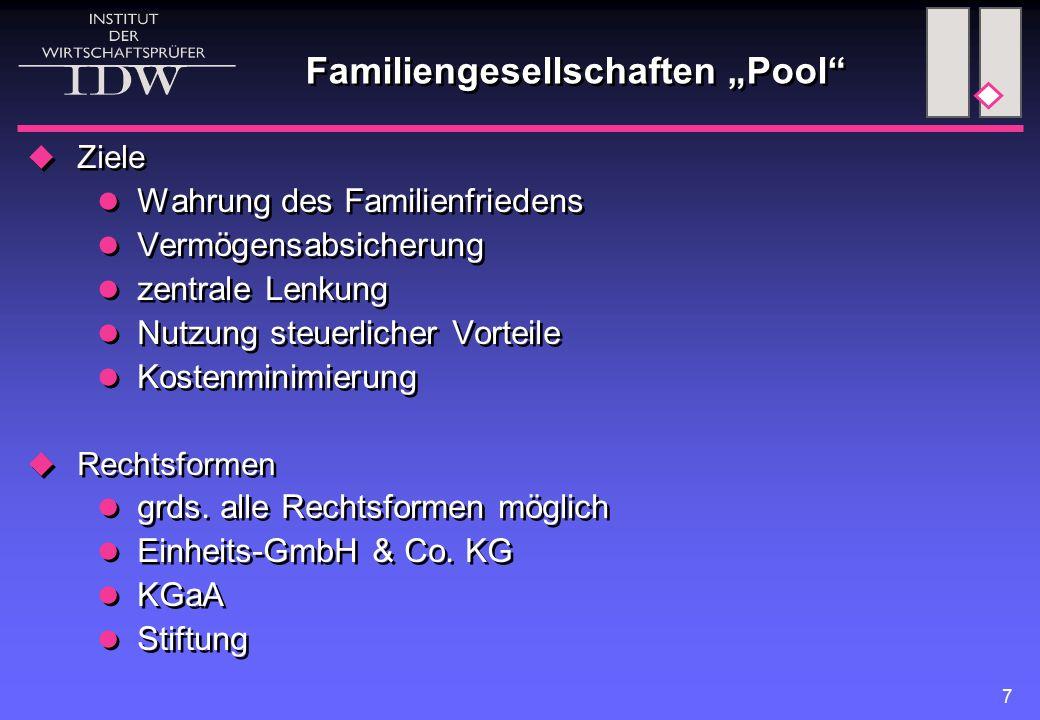 Einheits-GmbH & Co. KG KG nat. Person Vorteile: