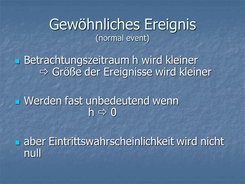 Gewöhnliches Ereignis (normal event)