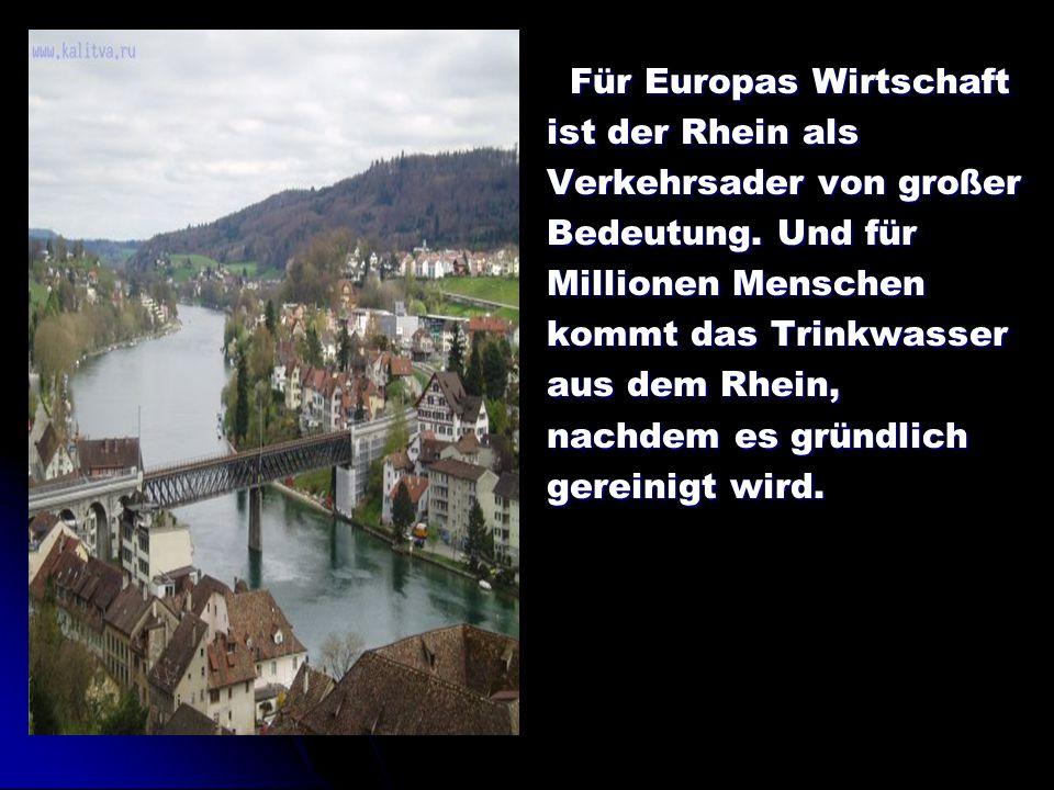 Für Europas Wirtschaft