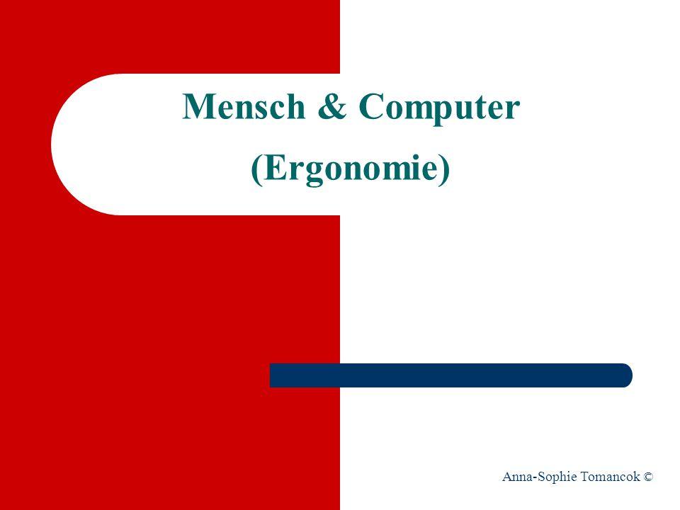 Mensch & Computer (Ergonomie)