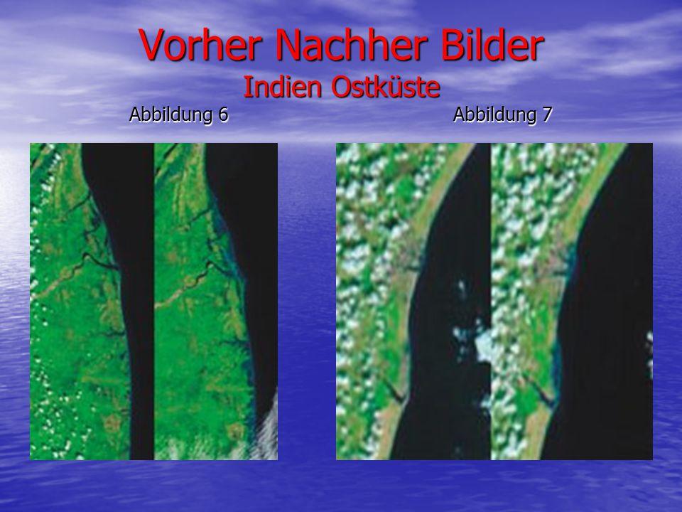 Vorher Nachher Bilder Indien Ostküste Abbildung 6 Abbildung 7