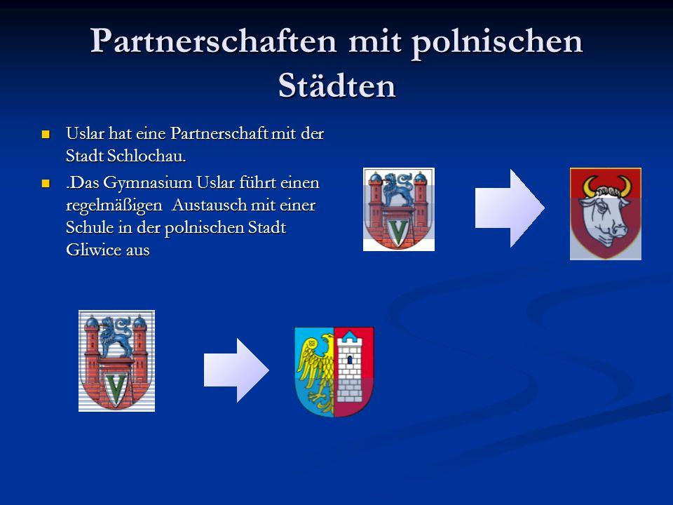 Partnerschaften mit polnischen Städten