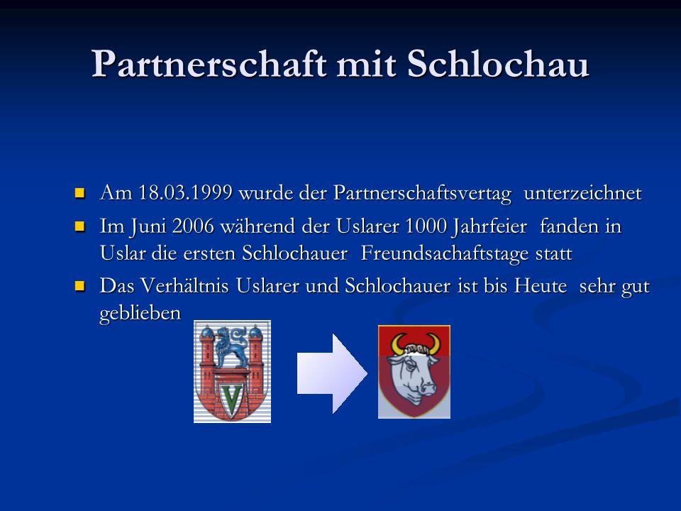 Partnerschaft mit Schlochau