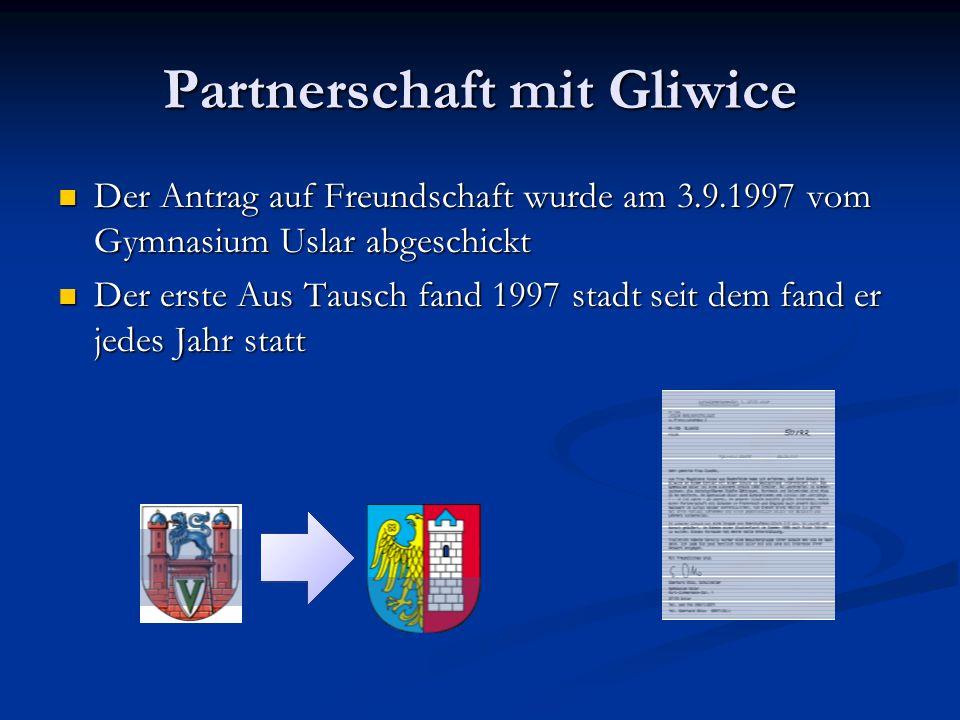 Partnerschaft mit Gliwice