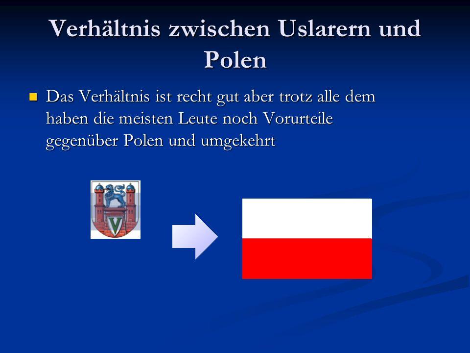 Verhältnis zwischen Uslarern und Polen