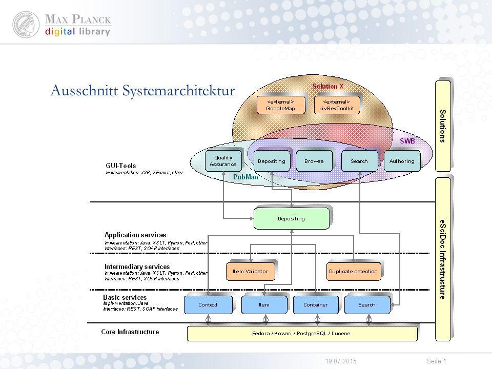 Solutions PubMan FACES VIRR WALS Online LAMUS-Anbindung
