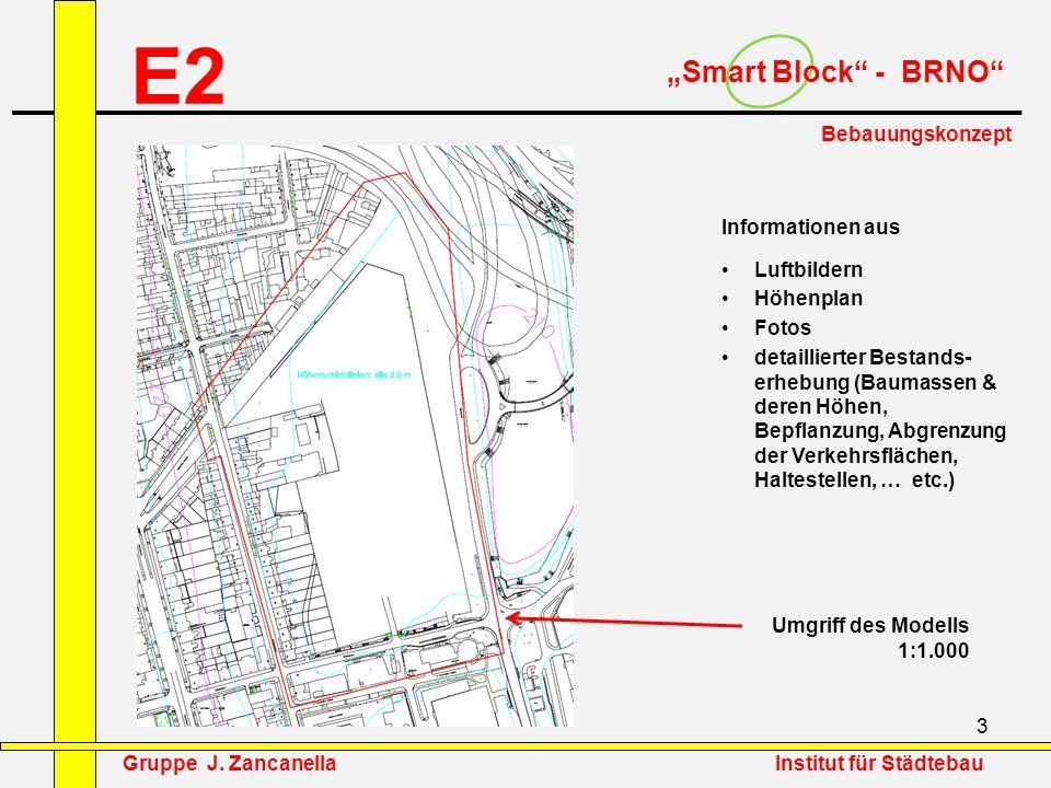 """E2 """"Smart Block - BRNO Bebauungskonzept Informationen aus"""