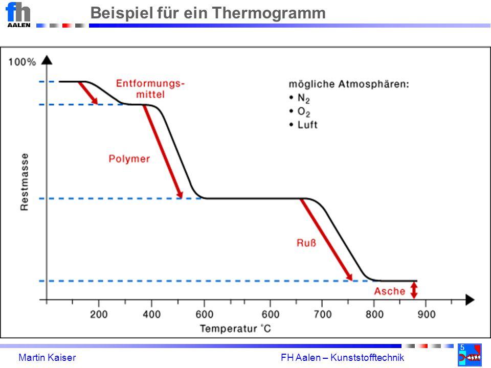 Beispiel für ein Thermogramm